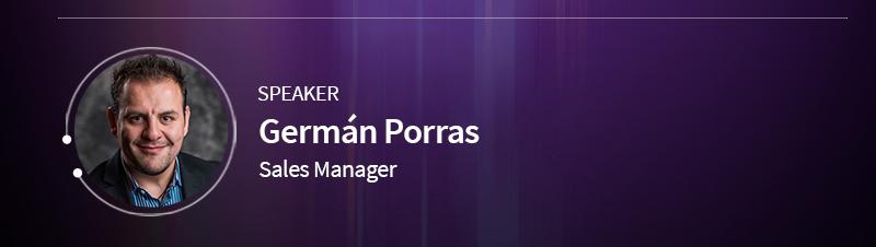 Speaker:Germán Porras